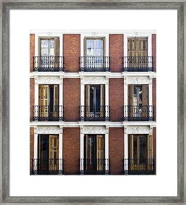 Madrid Framed Print by Frank Tschakert