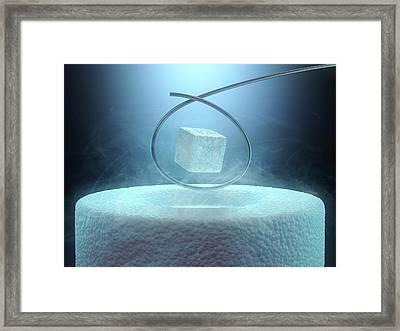 Magnetism Framed Print by Ktsdesign
