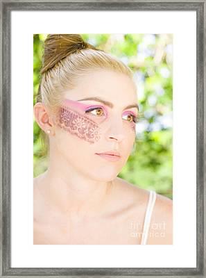 Makeup Framed Print