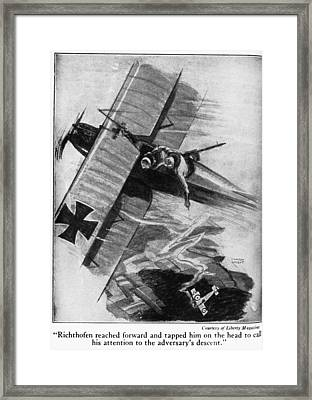 Manfred Von Richthofen (1892-1918) Framed Print by Granger