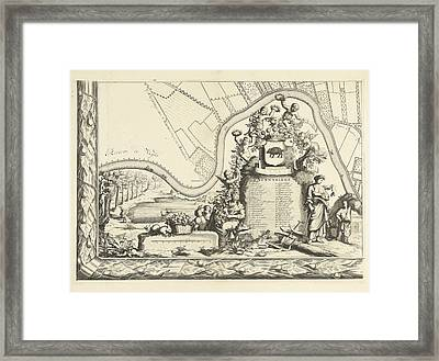 Map Of The Heerlijkheid Maarsseveen, The Netherlands Framed Print by Philibert Bouttats
