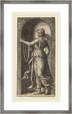 Marcantonio Raimondi After Raphael Italian Framed Print by Litz Collection
