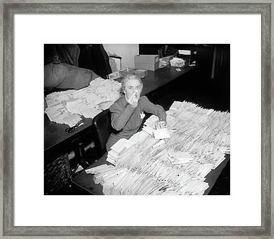 Marguerite Lehand (1898-1944) Framed Print by Granger