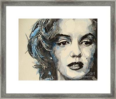 Marilyn Framed Print by Paul Lovering