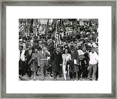 Martin Luther King Framed Print