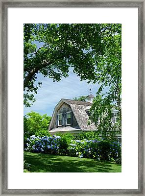 Massachusetts, Martha's Vineyard Framed Print by Cindy Miller Hopkins