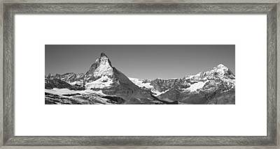 Matterhorn Switzerland Framed Print by Panoramic Images