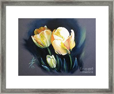 Tulips Framed Print by Alessandra Andrisani