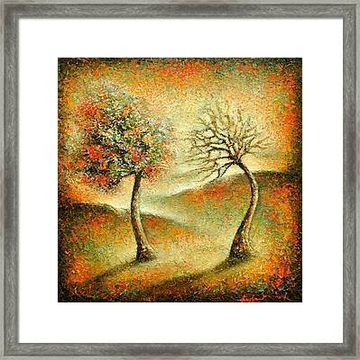 Me And You Framed Print