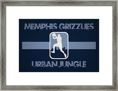 Memphis Grizzlies Framed Print