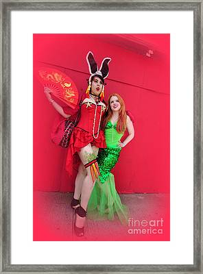 Mermaid Parade 2011 Framed Print