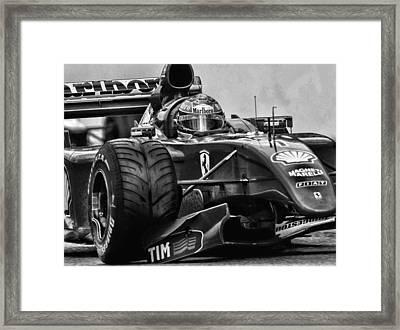 Michael Schumacher  Framed Print by Srdjan Petrovic