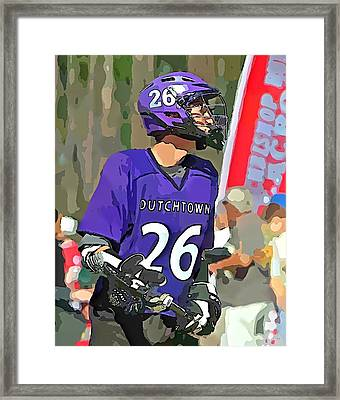 Middie Framed Print by Barry Spears