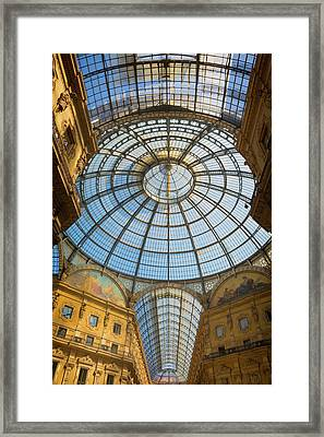 Milan, Milan Province, Lombardy, Italy Framed Print