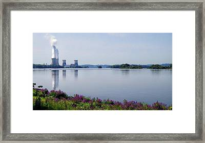 3 Mile Island Framed Print