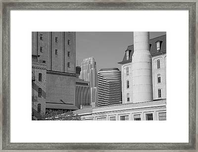 Minneapolis Framed Print