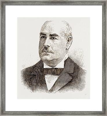 Mk. D. M. Dickenson Mr. Justice Putnam Mr. Chandlerp Framed Print