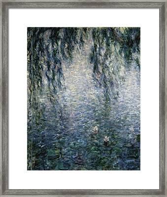Monet, Claude 1840-1926. Waterlilies Framed Print