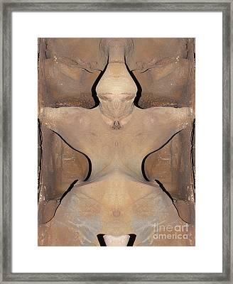 Monster Framed Print by Michal Boubin