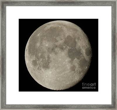 Moon Framed Print by Jennifer Kimberly