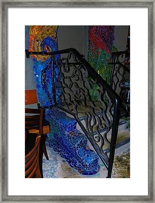 Mosaic Doorway Framed Print by Charles Lucas