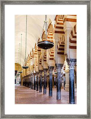 Mosque Cathedral Of Cordoba  Framed Print