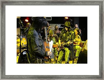 Motley Crue Framed Print by Don Olea