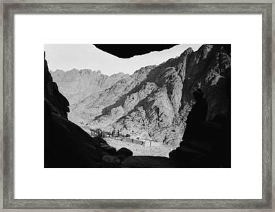 Mount Sinai Monastery Framed Print