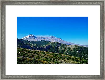 Mt St Helens Framed Print by Jeff Swan