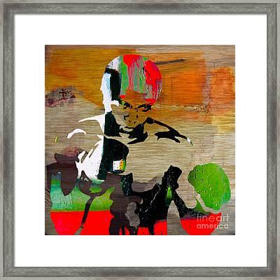 Muhammed Ali Framed Print