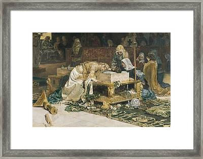 Mu�oz I Degrain, Antoni 1841-1924 Framed Print by Everett