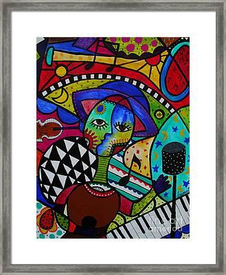 Musico Framed Print