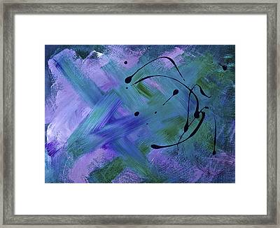 Framed Print featuring the painting Nameless by Tracey Myers