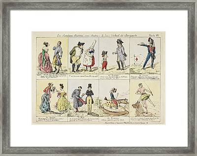 Napoleon Bonaparte Framed Print by British Library