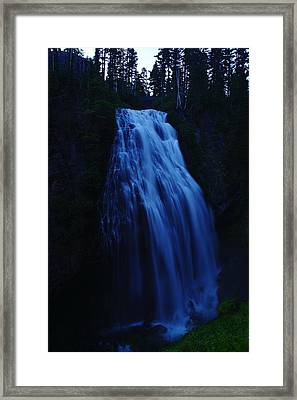 Narada Falls Framed Print by Jeff Swan
