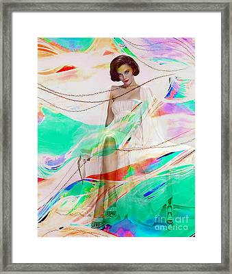 Natalie Wood Framed Print by Marvin Blaine