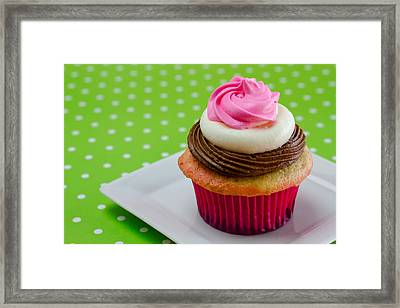 Neapolitan Cupcakes Framed Print