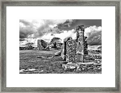 Nendrum Monastic Site Framed Print