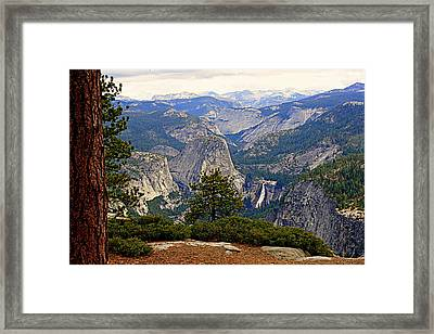 Nevada Falls Framed Print