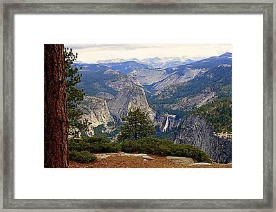 Nevada Falls Framed Print by Lynn Bawden