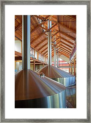 New Belgium Brewery Framed Print