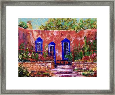 New Mexico Garden Framed Print by Bruce Schrader