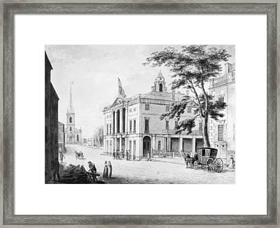 New York Federal Hall Framed Print
