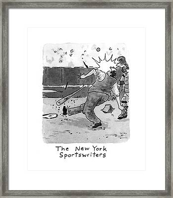 New Yorker April 5th, 1993 Framed Print