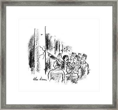 New Yorker September 30th, 1944 Framed Print