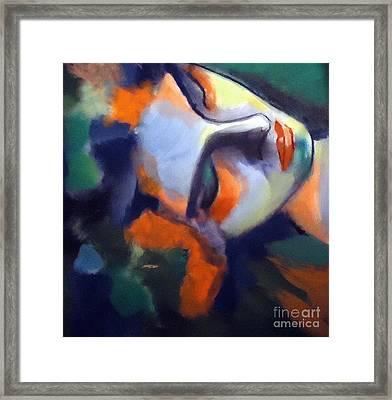 Nightfall Framed Print by Helena Wierzbicki