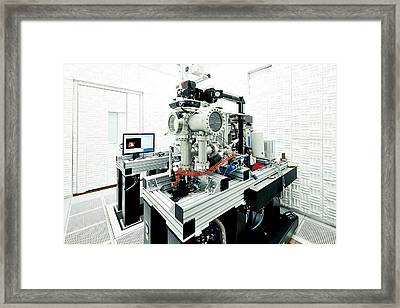 Noise-free Labs Framed Print by Ibm Research