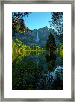 North America National Parks Framed Print by Ron Reznick