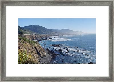 Northern California Coast Framed Print by Twenty Two North Photography