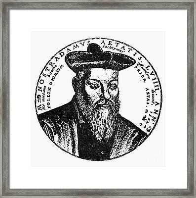 Nostradamus (1503-1566) Framed Print by Granger